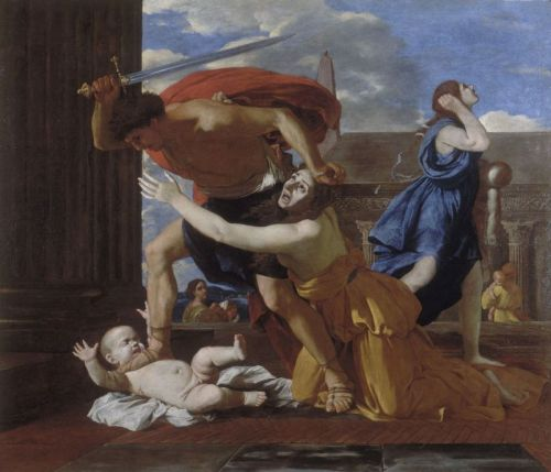 Poussin Le Massacre des Innocents