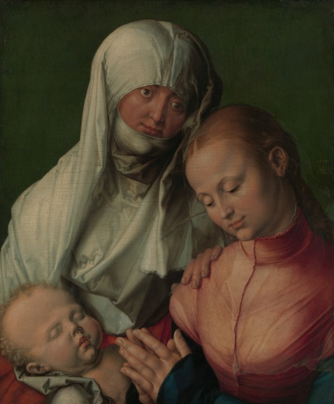 dürer -  Virgin and Child with Saint Anne